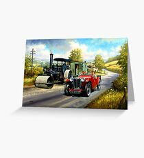 MG M type Midget  Greeting Card