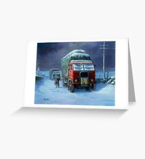 BRS Scammell R8 Greeting Card