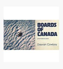 BOARDS OF CANADA DAVYAN COWBOY Photographic Print