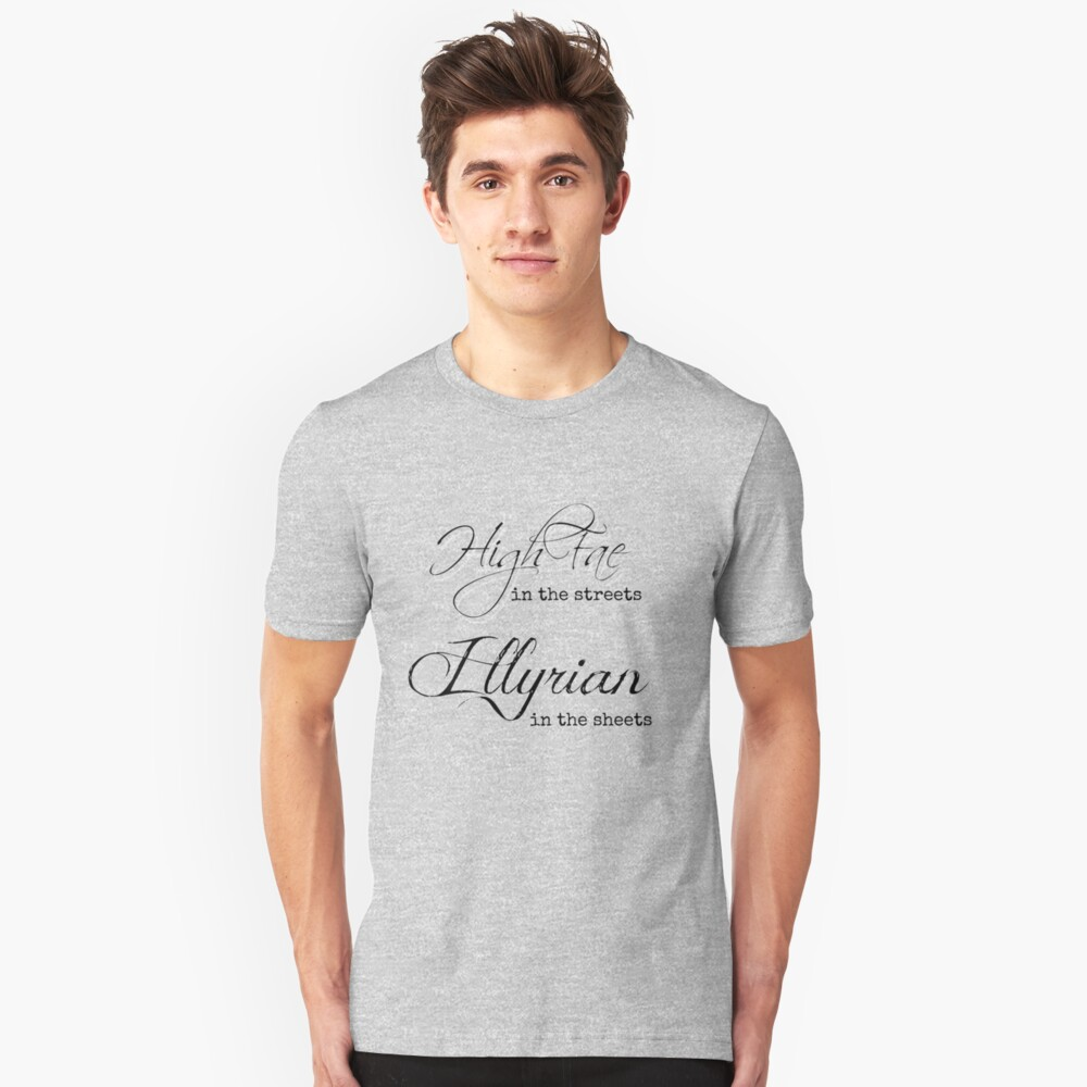 Illyrian in the Sheets Unisex T-Shirt Front