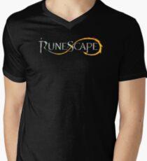 Runescape Logo Mens V-Neck T-Shirt