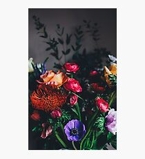 Multi-coloured bouquet Photographic Print