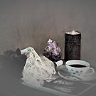 End of the Day Coffee by Sherry Hallemeier