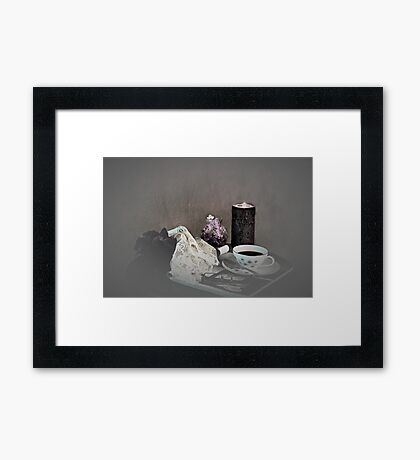 End of the Day Coffee Framed Print