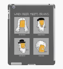 Beer Meets Brains iPad Case/Skin