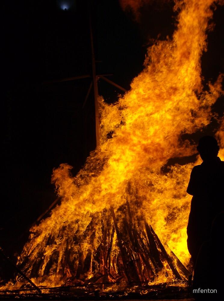 Blaze in Prague by mfenton