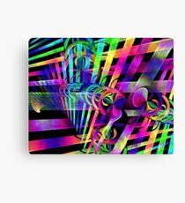 Discus Information Matrix Canvas Print