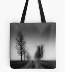 Trees in a parkway Tote Bag