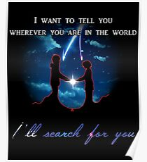 I'll search for you Poster