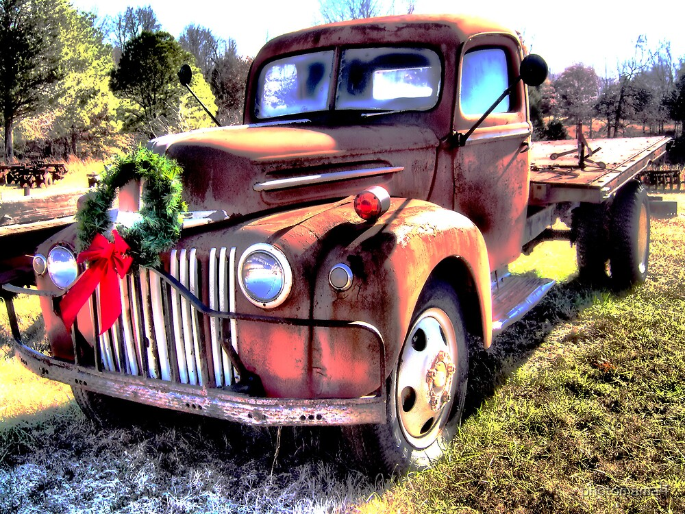 Christmas Truck by photomama4