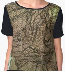 """Tree Hugger 1"" Chiffon Top"