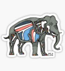 Astral Elephant Sticker