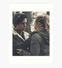 Riverdale - Jughead & Betty Art Print