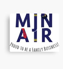 MJN - Proud to Be a Family Business Canvas Print