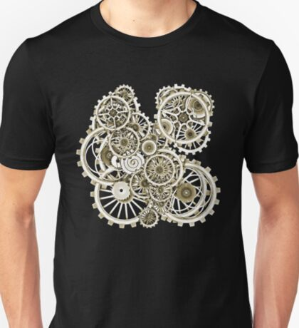 Steampunk Gears on your Gear No.2 Vintage Style Steampunk T-Shirts T-Shirt