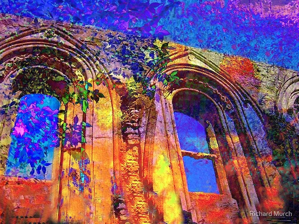 The Abbey Courtyard by Richard Murch