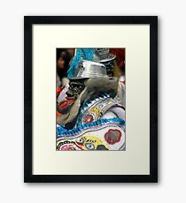 Folk Dancing Corso Wong Framed Print