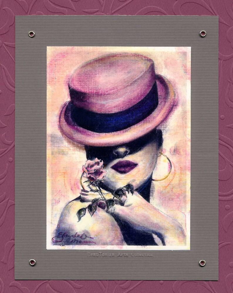 #80 Rose Seduction ~ 1990 Series ©beauTonian arts collection by gabryshak
