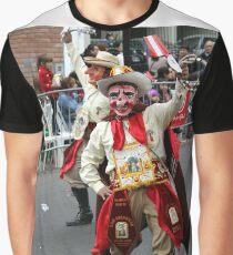 Folk Dancing Majeños Corso Wong Graphic T-Shirt