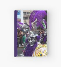 Folk Dancing Diablada Corso Wong Hardcover Journal