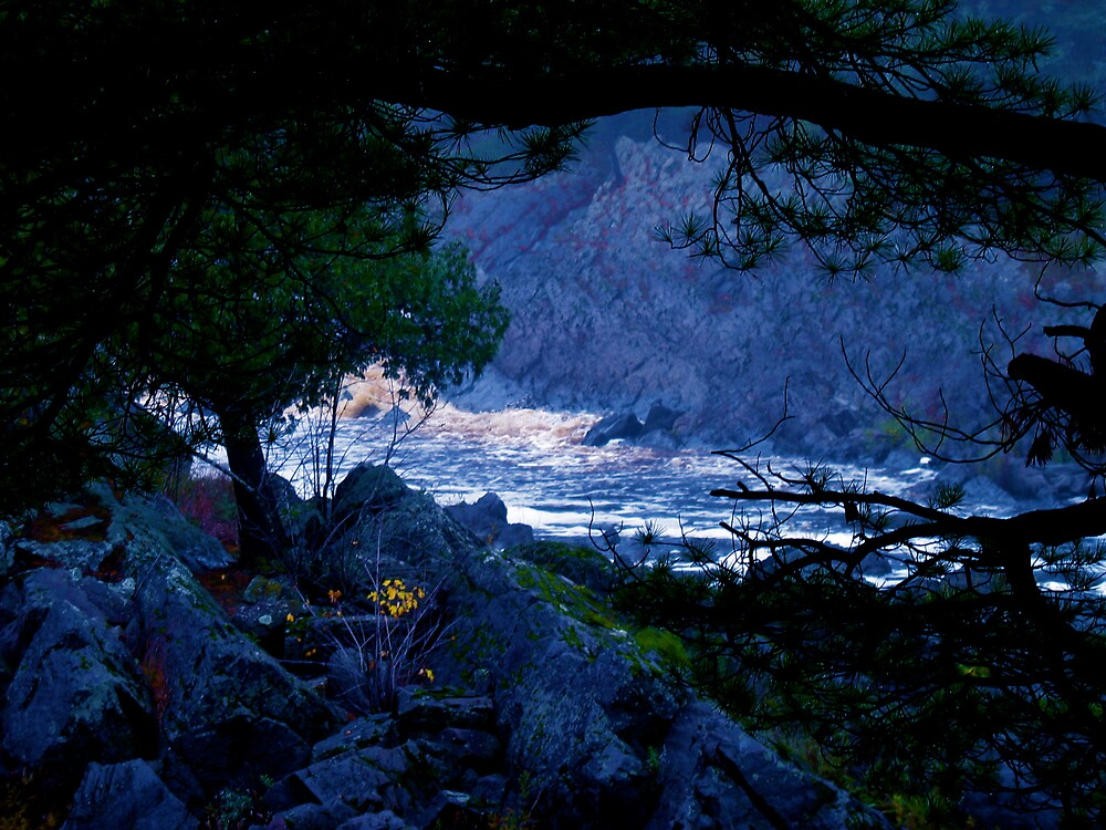 Blue River by MarlaShaw
