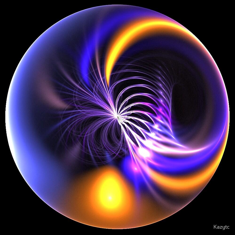 Wormhole through Fillaments by Kazytc