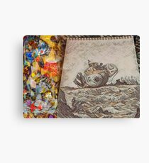 The Sketch Book Canvas Print