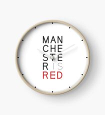 Manchester is RED Clock