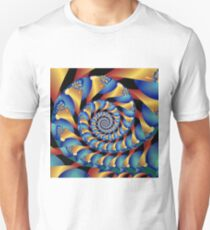 Archimedes' Blue & Gold Tangent T-Shirt