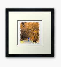 On Location Framed Print