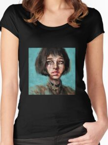 Leon The Professional Mathilda Women's Fitted Scoop T-Shirt