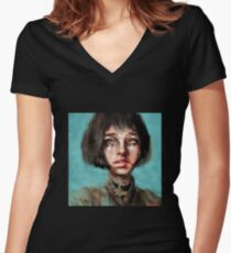 Leon The Professional Mathilda Women's Fitted V-Neck T-Shirt