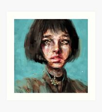 Leon The Professional Mathilda Art Print