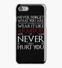 Wear It Like Armour iPhone Case/Skin