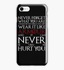 Wear It Like Armour iPhone Case/Skin
