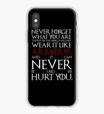 Wear It Like Armour iPhone Case