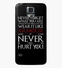 Trage es wie Rüstung Hülle & Klebefolie für Samsung Galaxy