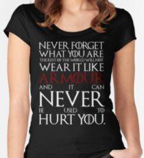Wear It Like Armour Women's Fitted Scoop T-Shirt