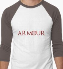 Wear It Like Armour Men's Baseball ¾ T-Shirt