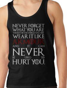 Wear It Like Armour Tank Top