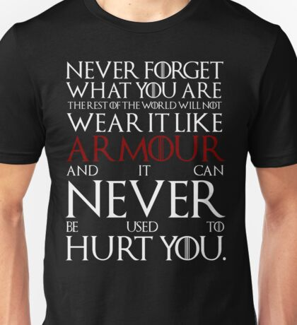 Wear It Like Armour Unisex T-Shirt