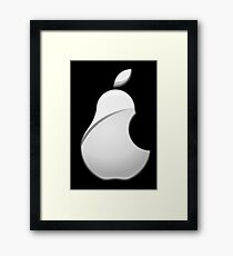 Pear Logo Framed Print