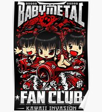 BabyMetal (Chibi) Fan Club Poster