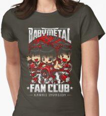 BabyMetal (Chibi) Fan Club Womens Fitted T-Shirt