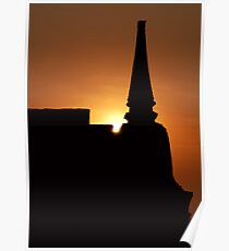 Chedi Sunset Poster