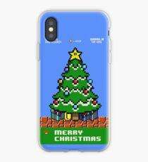 Merry 8-bit Christmas iPhone Case
