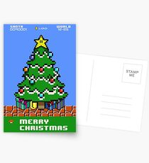 Merry 8-bit Christmas Postcards