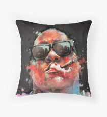 Biggie Smalls Notorious BIG Throw Pillow