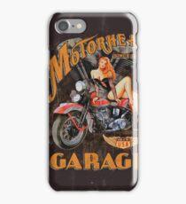Motorhead Garage Vintage Poster iPhone Case/Skin