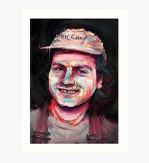Mac DeMarco Painting Art Print